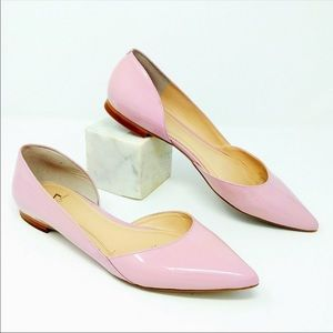 Marc Fisher Sunny D'Orsay Flat Light Pink Leather